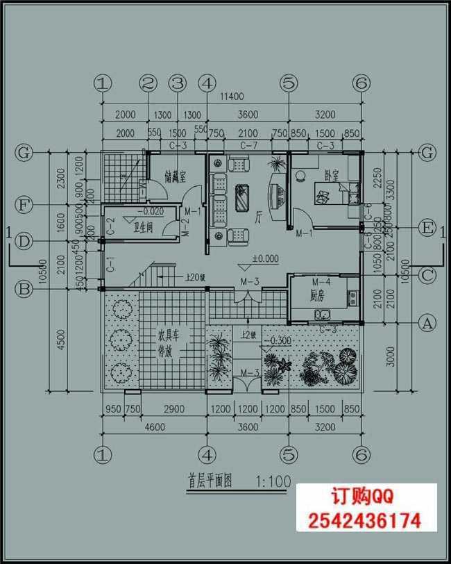 110平方米新农村实用现代的二层建筑设计图纸带外观图